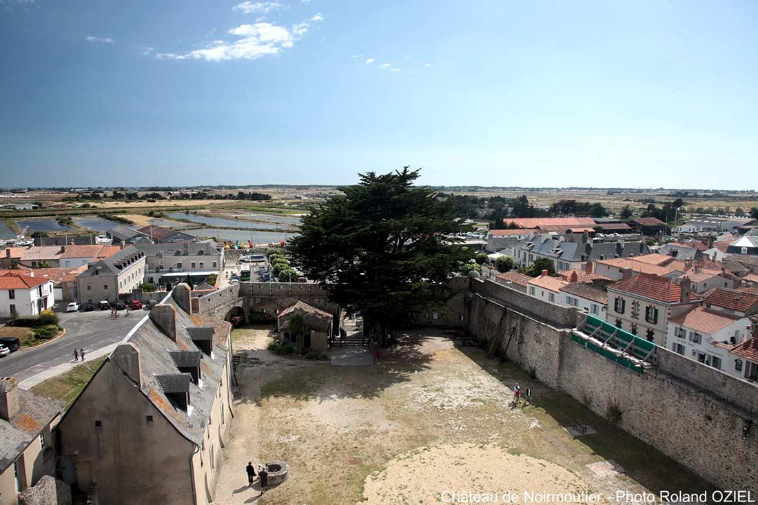 vue de Noirmoutier en l'Ile