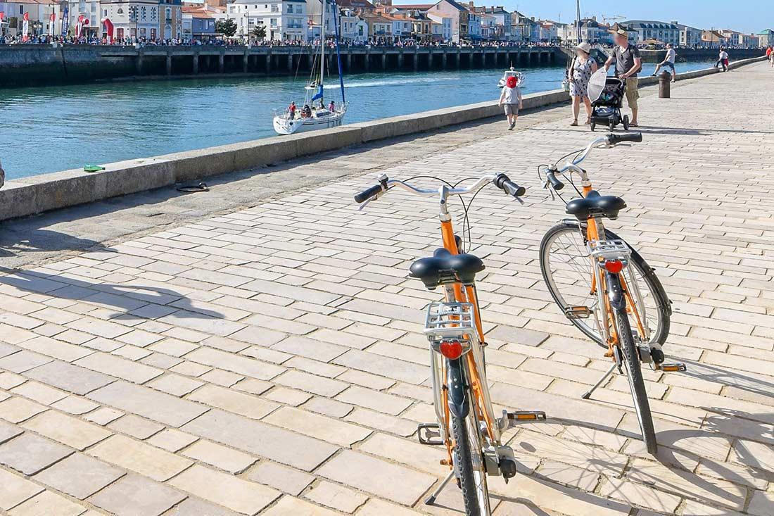 vélo aux Sables d'Olonne