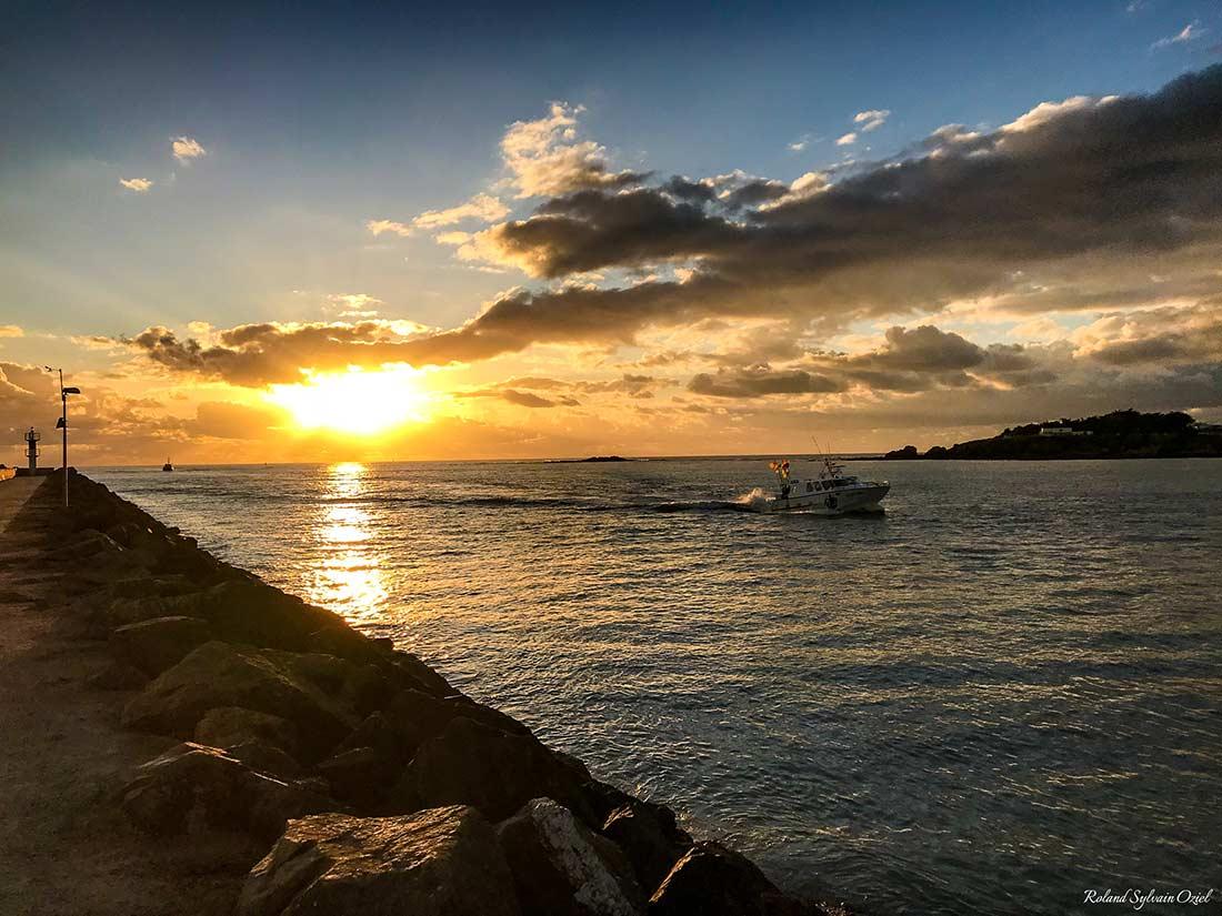 coucher de soleil saint-gilles-croix-de-vie
