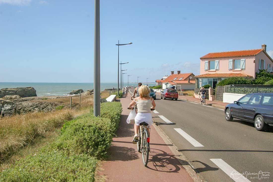 vélo et pistes cyclables du littoral vendéen