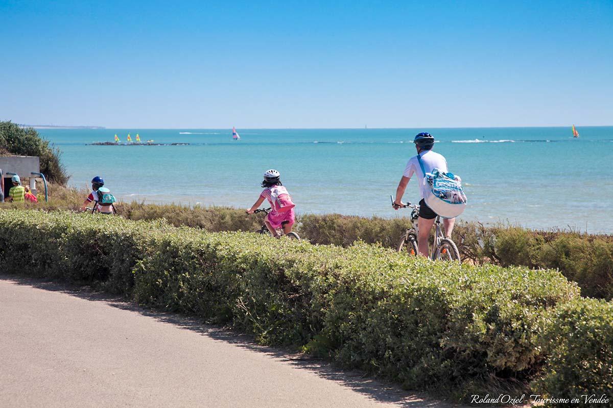 vélo Brétignolles sur Mer