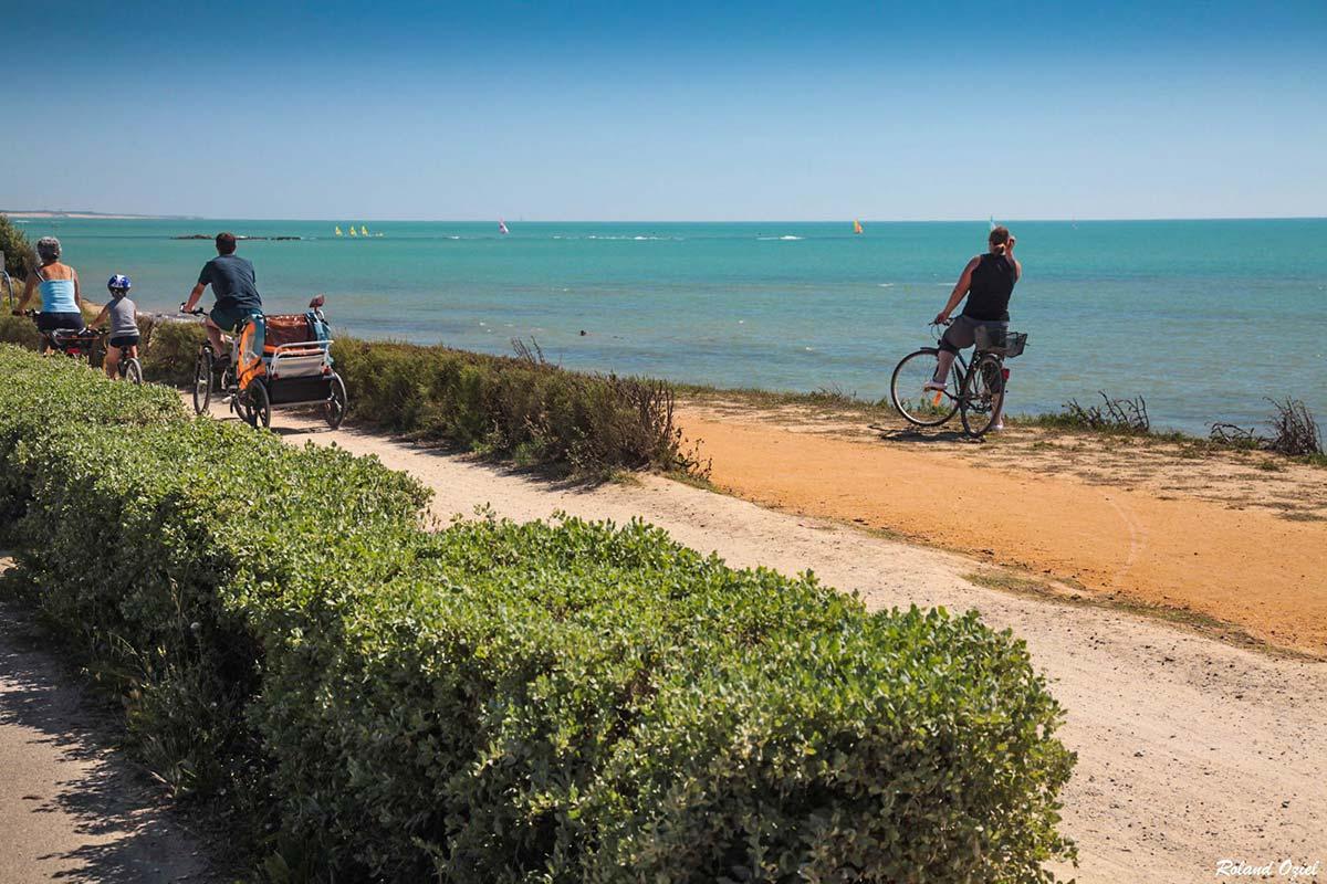 piste cyclable Brétignolles sur Mer