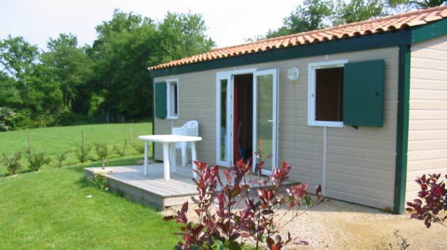 Location de chalet toute l'année en Vendée